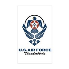 USAF Thunderbirds Diamond Rectangle Decal