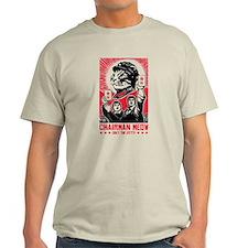 Follow Chairman Meow! 2 Sided T-Shirt