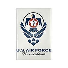 USAF Thunderbirds Diamond Rectangle Magnet