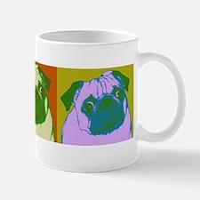 Pop Art Pugs Mug