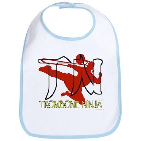 Trombone Ninja Bib