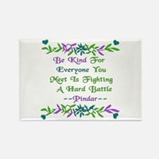 Be Kind Pindar Quote Rectangle Magnet