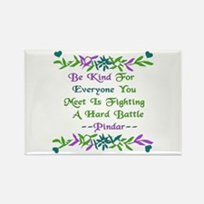 Be Kind Pindar Quote Rectangle Magnet (100 pack)