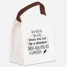 Cute Dreams Canvas Lunch Bag