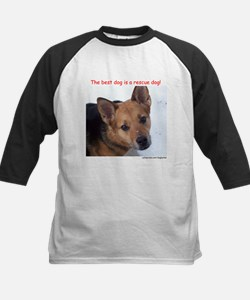 """""""Best dog is a rescue dog"""" Tee"""