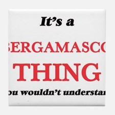 It's a Bergamasco thing, you woul Tile Coaster