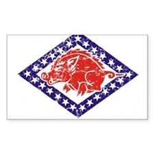 ARKANSAS NATIONAL GUARD 2 Rectangle Decal