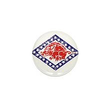 ARKANSAS NATIONAL GUARD 2 Mini Button