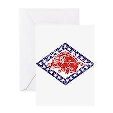 ARKANSAS NATIONAL GUARD 2 Greeting Card