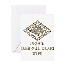 ARKANSAS NATIONAL GUARD 3 Greeting Card