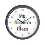 Personalized Teacher Wall Clock
