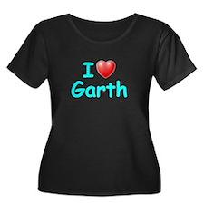 I Love Garth (Lt Blue) T