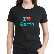 I Love Garth (Lt Blue) Tee