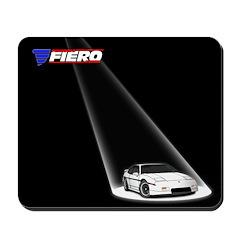 PFF Mousepad - Spotlight White/White