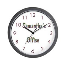 Personalized Office Wall Clock
