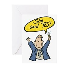 Engagement Announcement Greeting Cards (Pk of 20)