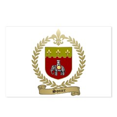 SONIER Family Crest Postcards (Package of 8)