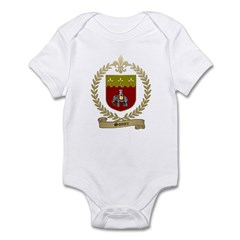 SONIER Family Crest Infant Bodysuit