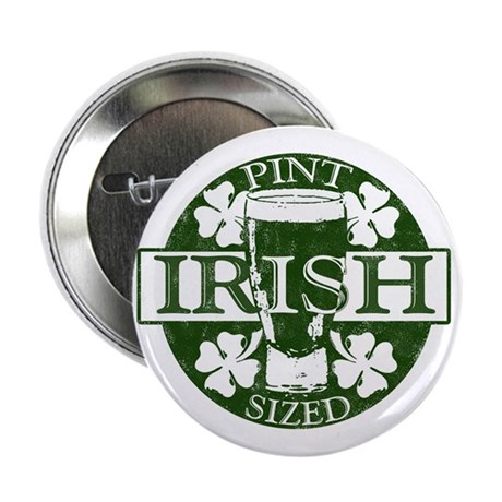 "Pint- Sized Irish 2.25"" Button (10 pack)"
