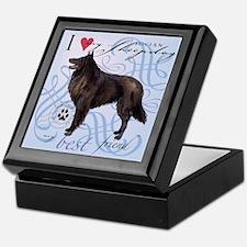 Belgian Sheepdog Keepsake Box