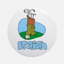 Isaiah Ornament (Round)