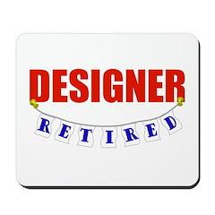 Retired Designer Mousepad