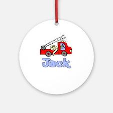 Jack Ornament (Round)