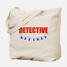 Retired Detective Tote Bag
