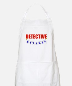 Retired Detective BBQ Apron
