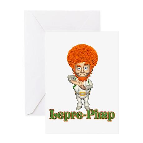 Pimp St Patricks Day Greeting Card
