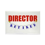 Retired Director Rectangle Magnet (100 pack)