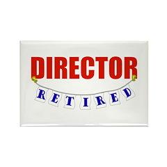 Retired Director Rectangle Magnet (100 pack)