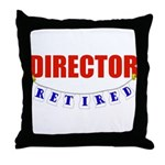 Retired Director Throw Pillow