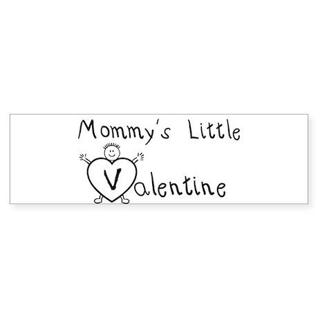 Mommy's Valentine (Boy) Bumper Sticker