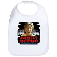 Billary America's Nightmare Bib