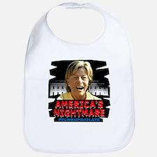 Billary America's Nightmare Bib