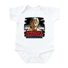 Billary America's Nightmare Infant Bodysuit