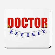 Retired Doctor Mousepad