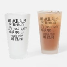 Cool People Drinking Glass