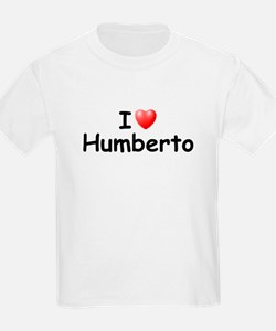 I Love Humberto (Black) T-Shirt