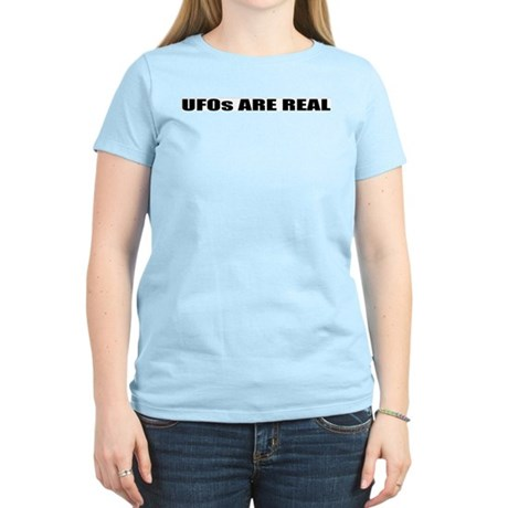 UFOs ARE REAL Women's Light T-Shirt