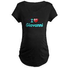 I Love Giovanni (Lt Blue) T-Shirt