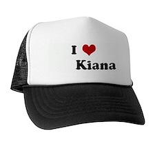 I Love         Kiana Trucker Hat