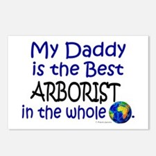 Best Arborist In The World (Daddy) Postcards (Pack