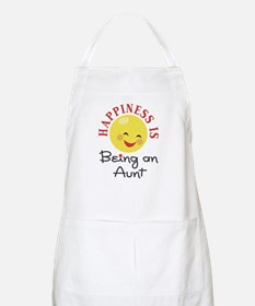 Happiness Is Being An Aunt BBQ Apron