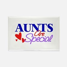 Aunts Are Special Rectangle Magnet