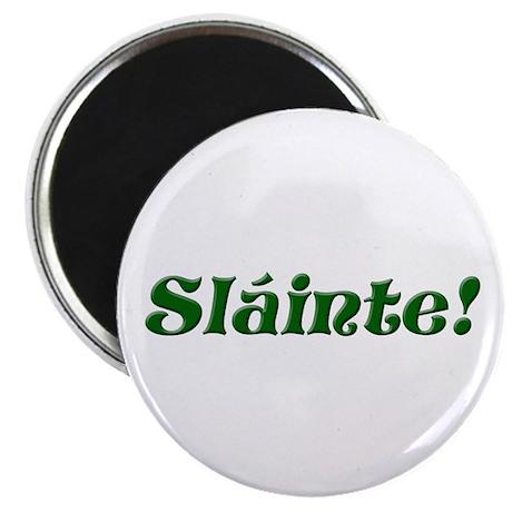 "Slainte Irish 2.25"" Magnet (10 pack)"