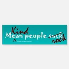 Mean People Suck Bumper Bumper Bumper Sticker