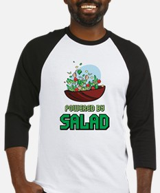 Powered By Salad Baseball Jersey