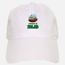 Powered By Salad Baseball Baseball Cap